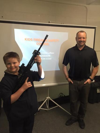 Kids Firearm Safety Class 1
