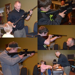 Kids Gun Safety Class 1 in Bend.