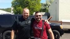 Pic with Chris Mintz During Roseburg CHL Class