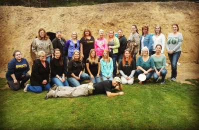 Large ladies empowerment group.